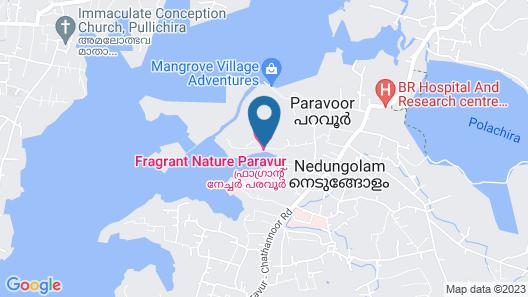 Fragrant Nature Backwater Resort & Ayurveda Spa Map