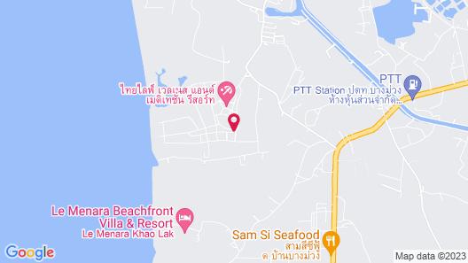 The Hip Resort @ Khao Lak Map