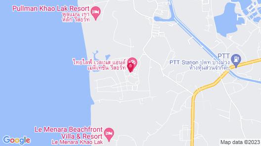 Thailife Homestay Resort & Spa Map