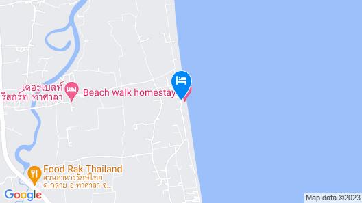 Beach walk Homestay Map