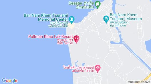 Pullman Khao Lak Resort Map