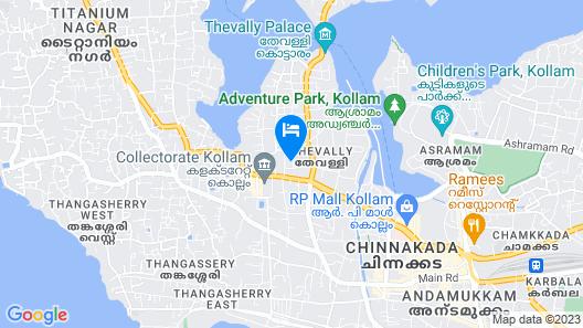Chandra Inn Map