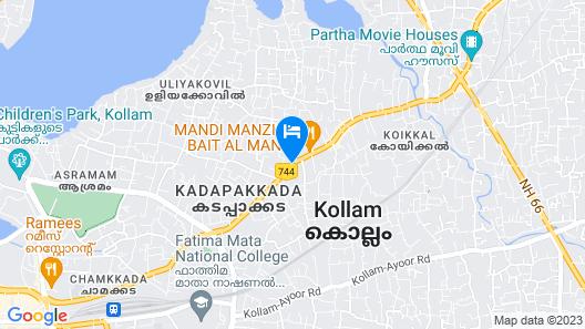 Xaviers Residency Map