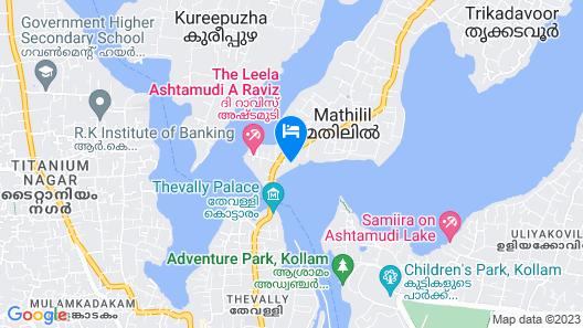 Hotel Allseason Map