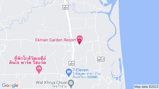 Ekman Garden Resort Nakhon Si Thammarat Map