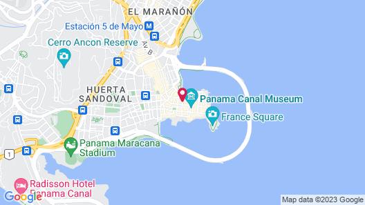 Magnolia Inn Map