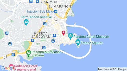 Las Clementinas Map