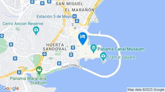 Selina Casco Viejo Panama City Map