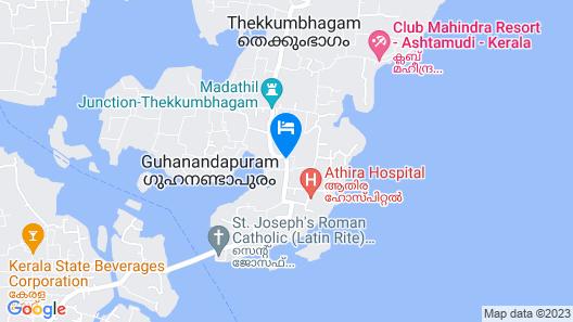 Club Mahindra Ashtamudi Map