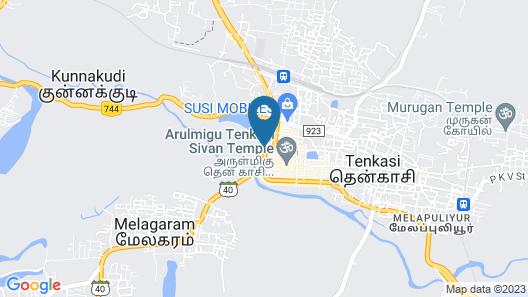 Krishna Tourist Home Map