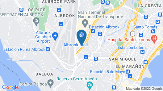Wyndham Panama Albrook Mall Hotel & Convention Center Map