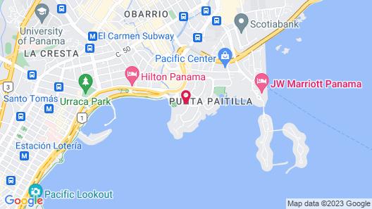 Plaza Paitilla Inn Hotel Map