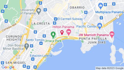 Le Meridien Panama Map
