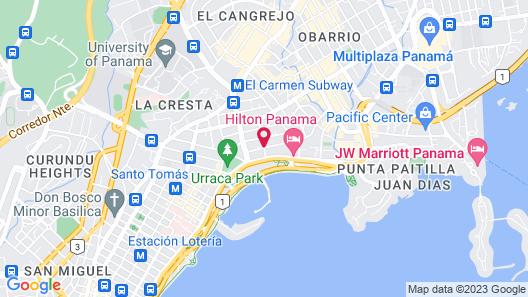 Waldorf Astoria Panama Map