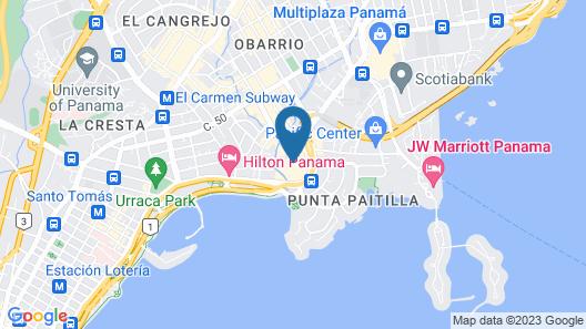 Hard Rock Hotel Panama Megapolis Map