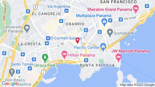 Hotel Panama Princess Map