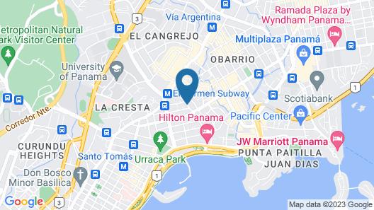 Bristol Panama Map