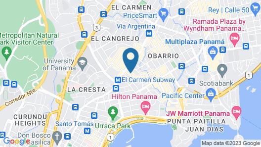 AC Hotel by Marriott Panama City Map