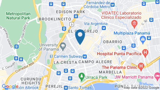 TRYP by Wyndham Panamá Centro Map