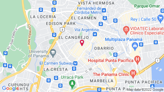 Riande Granada Urban Hotel Map