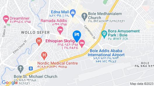 Bole Ambassador Hotel Map