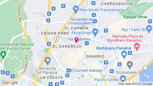 Best Western Plus Panama Zen Hotel Map