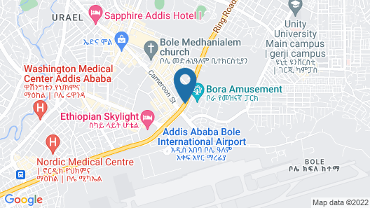 Bole Skygate Hotel Map