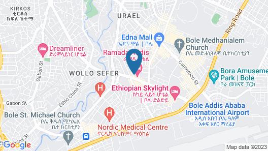 Yober Hotel Map