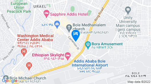 Hotel Lobelia Map