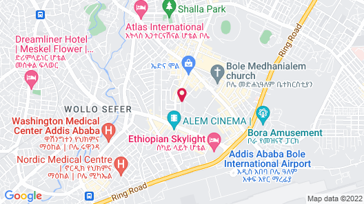 Venetian Hotel Map