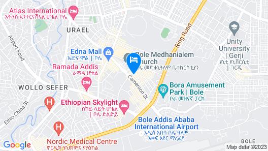 Impress Hotel Map