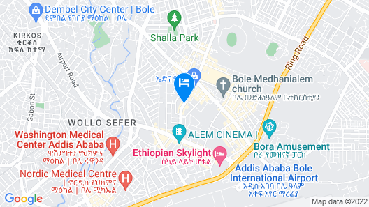 Monarch Hotel Map