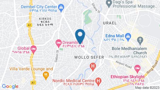 Wassamar Hotel Map