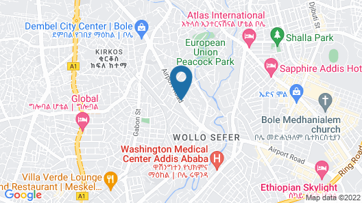 Momona Hotel Map