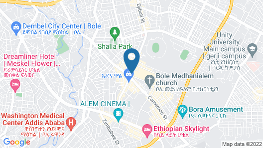 Trinity Hotel Map
