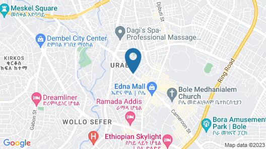 Azzeman Hotel Map