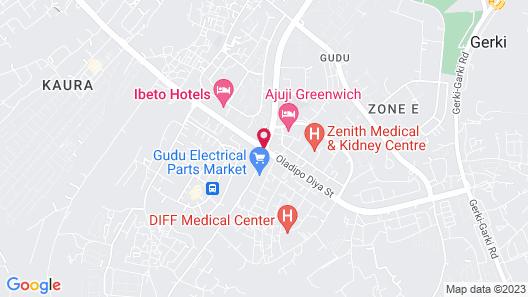 Apo Apartments Map