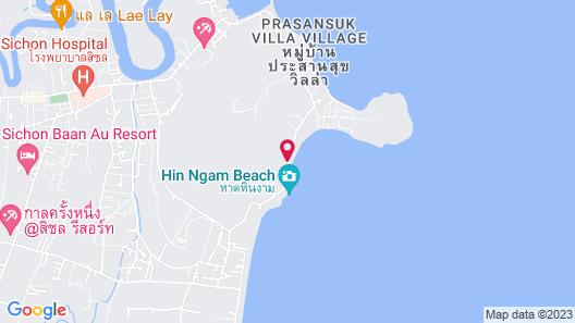 Haad Piti Resort, Sichon Map