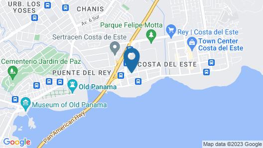 The Westin Panama Map