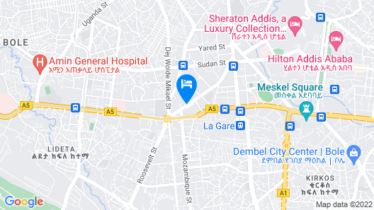 Wabe Shebelle Hotel S.C Map