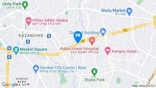 Capital Hotel & Spa Map