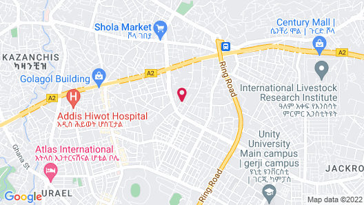 Geza Apartment Hotel Map