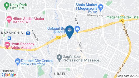 C fun Addis Hotel Map
