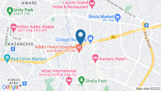 Getfam Hotel Map