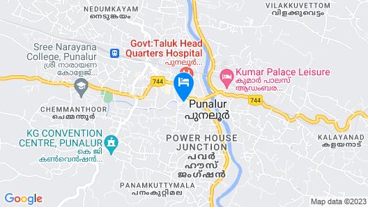 Kerala Heritage Villa Map