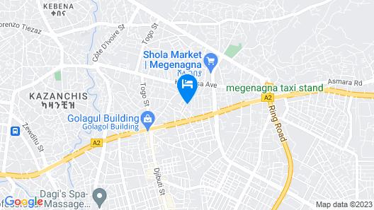 Ag Palace Hotel Map