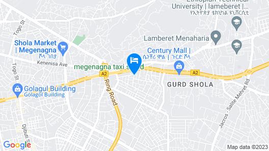 P6 Budget Hotel Map