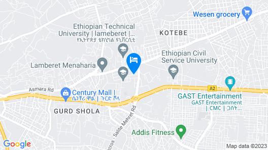 Solo Te Hotel Map