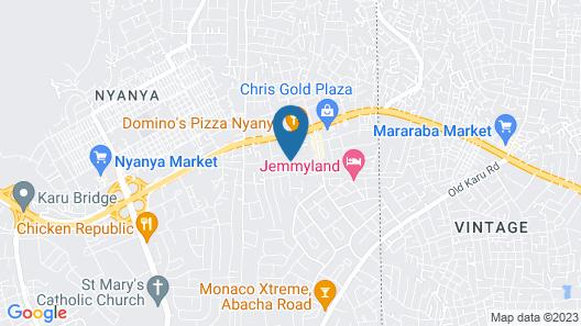 Juvacy Luxury Hotel 2 Map