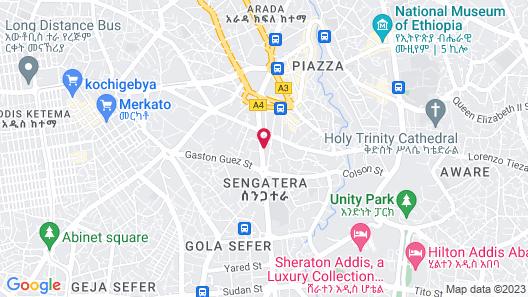 Eliana Hotel Map